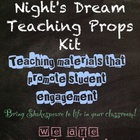 Midsummer Night's Dream Teaching Props Kit: MAD PROPS