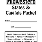 Midwestern States and Capitals Review Packet