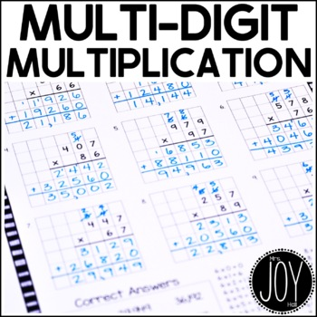 Mighty Multiplication eBook - 2 x 1, 2 x 2, etc.
