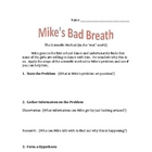 Mike&#039;s Bad Breath- The Scientific Method in the