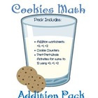 Milk and Cookies Math Pack: Addition & Part-Part-Whole