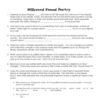 Milkweed by Jerry Spinelli ~ Found Poetry