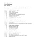 Miller&#039;s The Crucible, Act I quiz