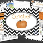 Mimio October Calendar Morning Meeting