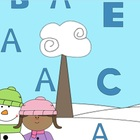 Mimio Winter Theme Find the A and Match the Letters