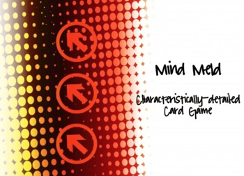 Mind Meld Characteristics Detail Card Game