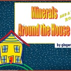 Minerals Around the House