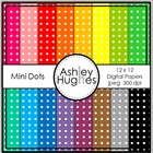 Mini Dots 1 {12x12 Digital Papers for Commercial Use}