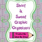 Mini Graphic Organizers