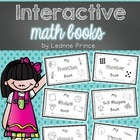Mini Interactive Math Books!