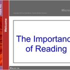 Mini Lesson 1:  The Importance of Reading, Free Version