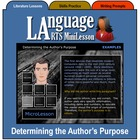 Mini Lesson 3:  Determining the Author's Purpose, Full Version