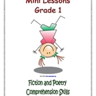 Mini Lessons - Fiction and Poetry - Comprehension Skills -