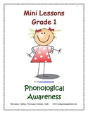 Mini Lessons - Phonological Awareness - Grade 1