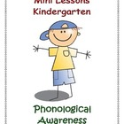 Mini Lessons - Phonological Awareness - Kindergarten