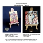 Mini Masterpieces (Art History Research and Painting Project)