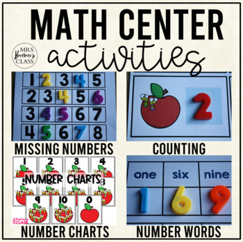 Mini Math Activity Pack