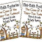 Mini Math Mystery Bundle Grade 2 and 3 - Case of the Tippy