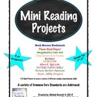 Mini Reading Projects Unit (10 Projects)