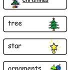 Mini Word Book-Christmas Words