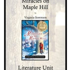 Miracles on Maple Hill by Virginia Sorensen Literature Unit