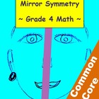 Mirror Symmetry Geometry Lesson - 4th Grade