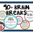 Miss Rachael&#039;s Brain Break Cards - 60+ ideas!