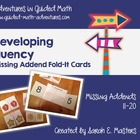 Missing Addend Fold-Its -- 11 to 20 -- Math Center Cards -