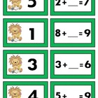 Missing Addend Math Station Game