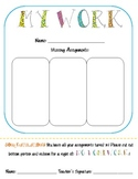 Missing Assignments {keeping kiddos organized + free homew