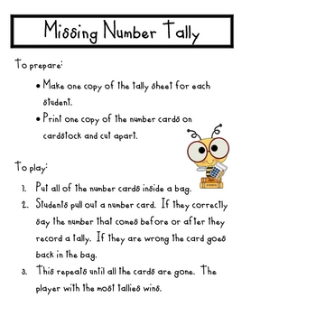 Missing Number Tally