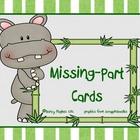 Missing-Parts Cards - Number Sense