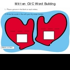 Mitten CVC Word Building