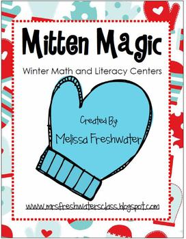 Mitten Magic Winter Math & Literacy Centers