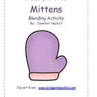 Mitten Match: Blending Activity for Word Work