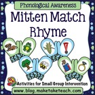 Mitten Match- Rhyme