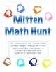 Mitten Math Hunt-A Winter Independent Math Center-Match Nu