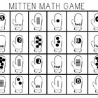 Mitten Math (Partner Game) Roll a Number