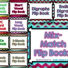Mix-Match Flip Books - 6 Versions for Differentiation {ELA