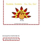 Mix & Match File Folder Game Board {Thanksgiving}