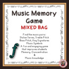 Mixed Bag Music Memory Game