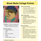 Mixed Media Collage Portrait Lesson Plan