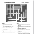 Mixed Science Crosswords