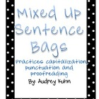 Mixed Up Sentence Bags