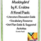 Mockingbird by K. Erskine: COMBO NOVEL PACK (lit, vocab, u