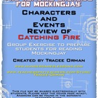 Mockingjay Pre-Reading Character Review Activity