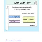 Model Method - Practice 2 Multiplication and Division