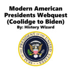 Modern American Presidents Webquest (Coolidge to Obama)