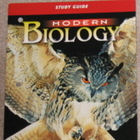 Modern Biology Study Guide - Brand New - 2002