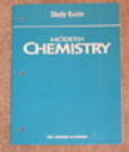 Modern Chemistry Study Guide (Holt)  New
